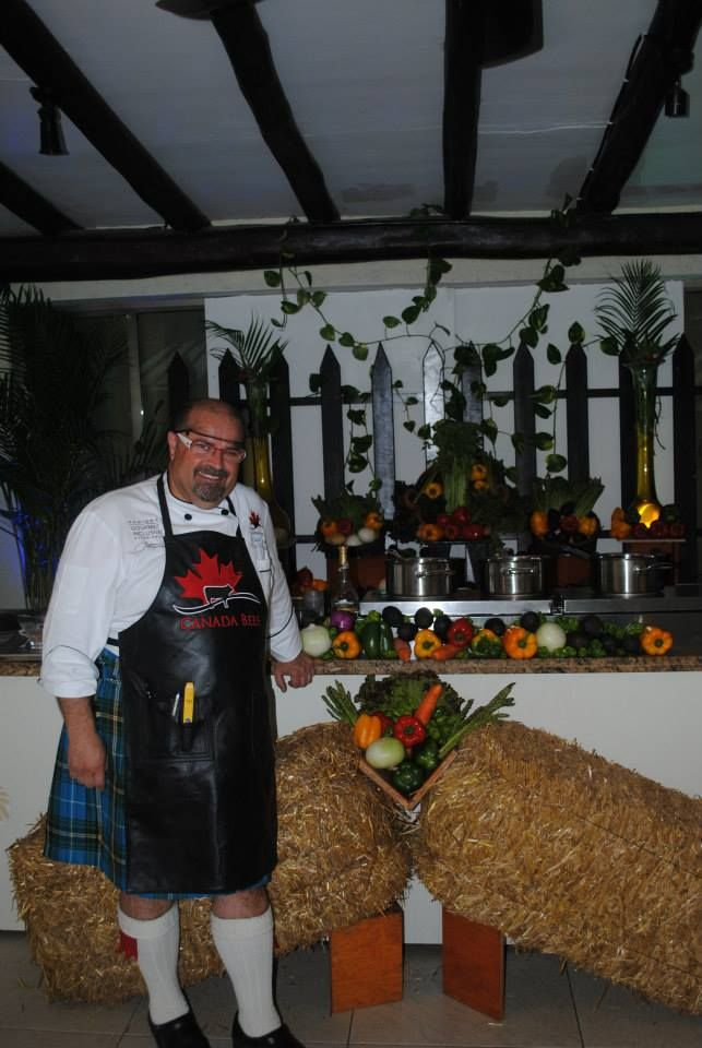 Canadian Beef Culinary Series with Kilted Chef Alain #loveCDNbeef