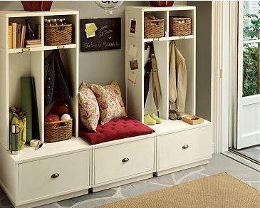 Benches: Decor, House Ideas, Dream, Mudrooms, Mud Rooms, Storage Idea, Mudroom Ideas, Entryway, Laundry Room