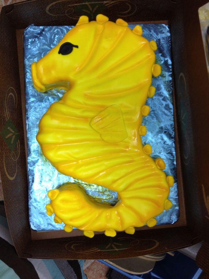 Seahorse Birthday Cakes Cake Ideas And Designs