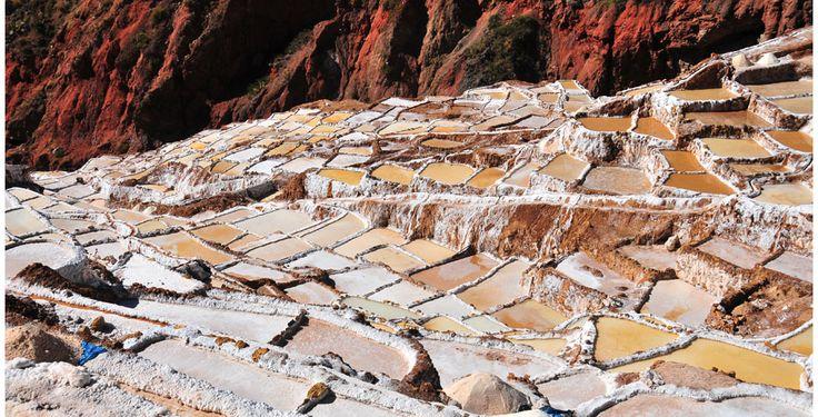 Salinas de Maras. Cusco, Perú