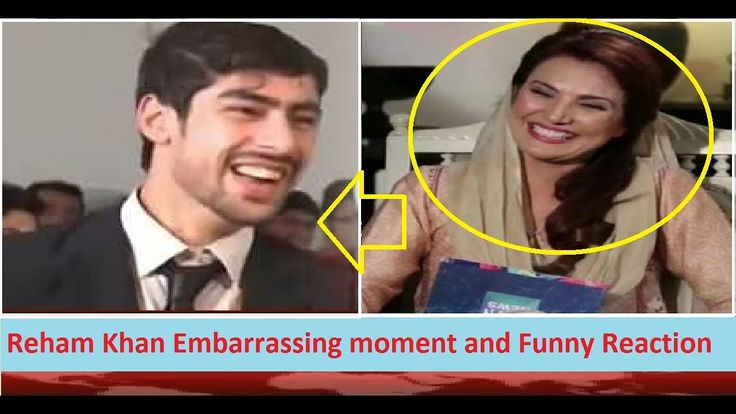 Reham Khan Embarrassing moment and Funny Reaction when a Student Prosed in Live TV Show