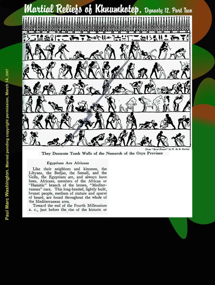 THE AFRICAN ORIGIN OF MARTIAL ARTS