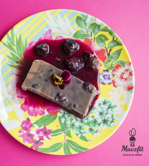 Sernik na zimno z chia - takie delicje tylko w Maczfit #sernik #chia #śniadanie #fit #ciasto #na #diecie #delicje #catering #maczfit #dieta #mniam #pycha