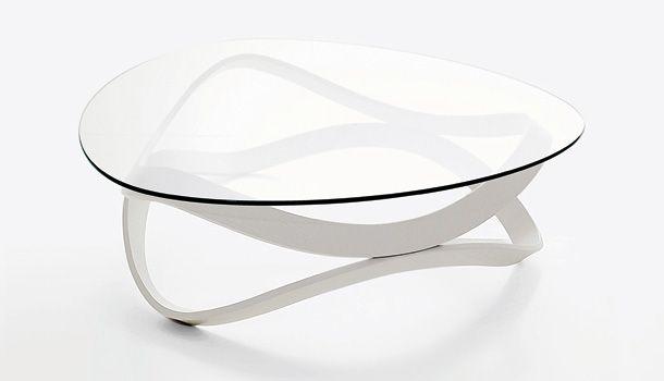 Newton White Coffee Table