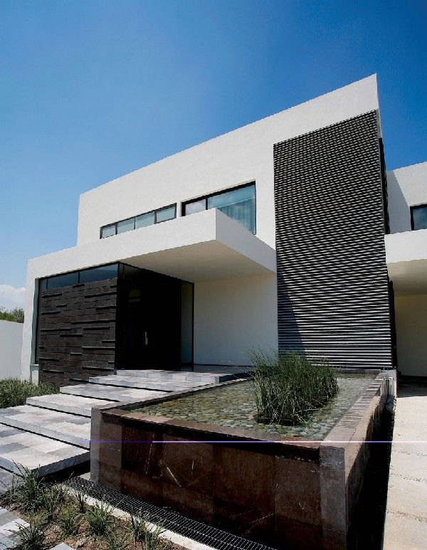 Modern property with beautiful design in Mexico designed by GLR Arquitectos