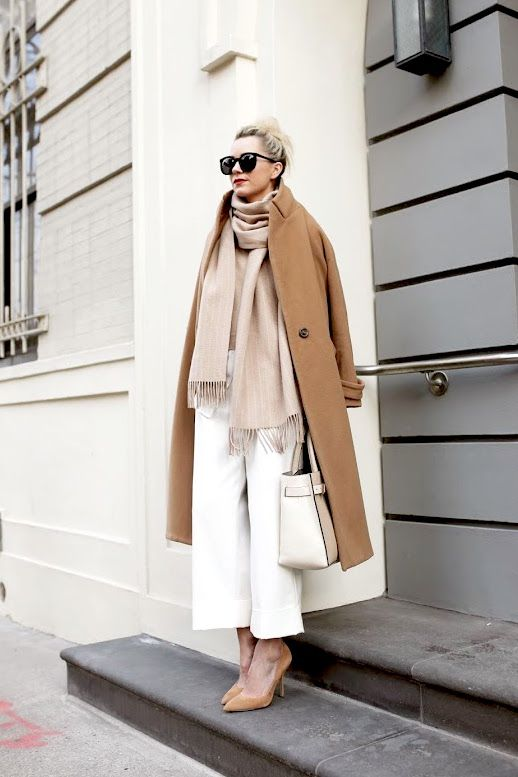 See How This Blogger Masters Neutral Layers For Winter