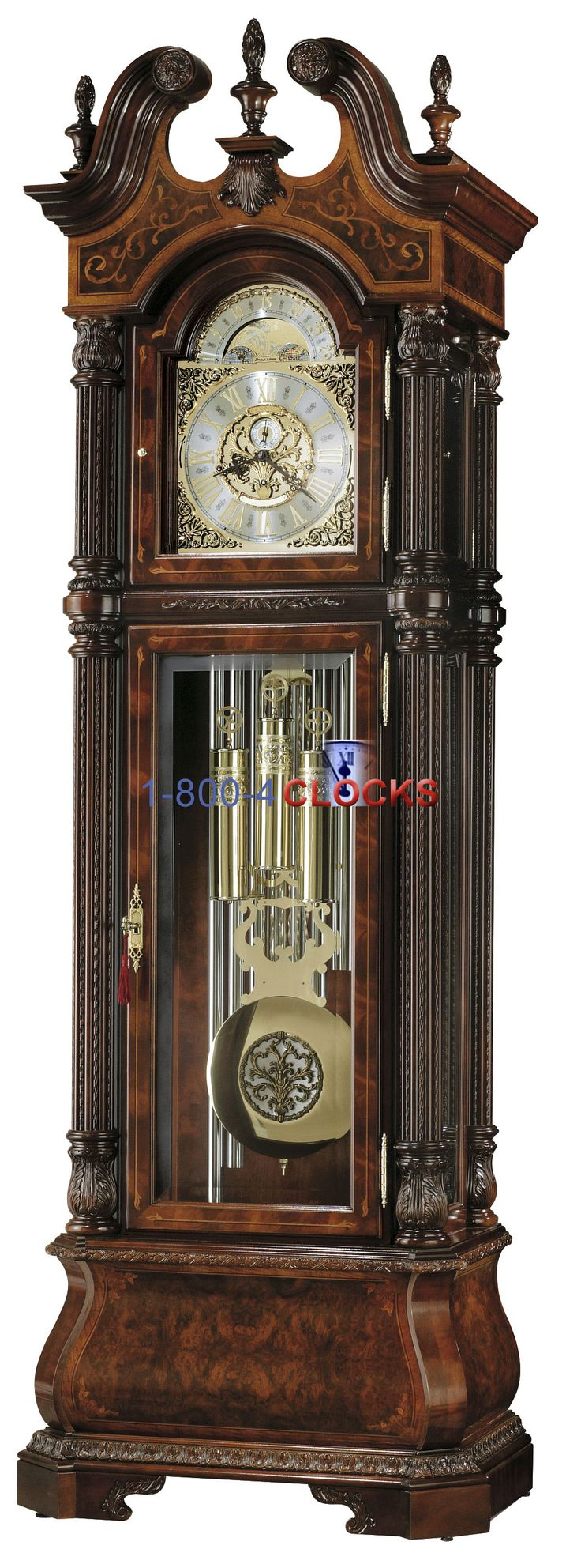 best clocks images on pinterest  grandfather clocks antique  - howard miller grandfather clocks  a review and history