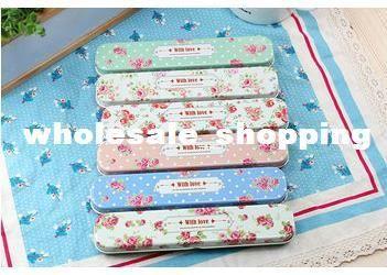 Wholesale Pencil Box - Buy Garden Flower Tin Pencil Box, $2.3 | DHgate