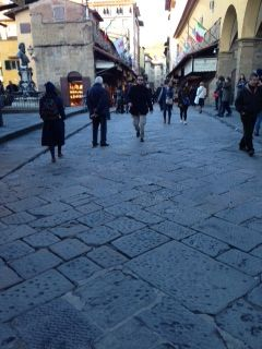 City streets of Florence
