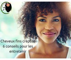 Les cheveux crépus peuvent être fins et faciles à entretenir dans le noir.   – Beauty