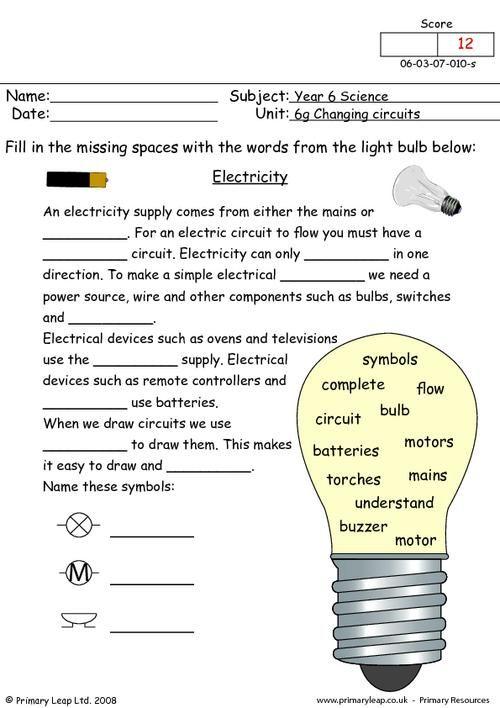 basic electricity worksheet free worksheets library download and print worksheets free on. Black Bedroom Furniture Sets. Home Design Ideas