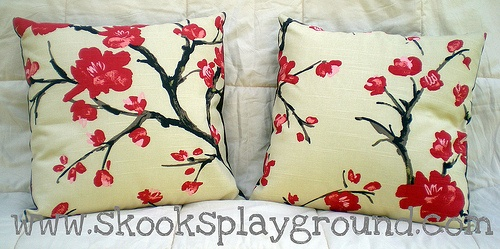 great cherry blossom fabric