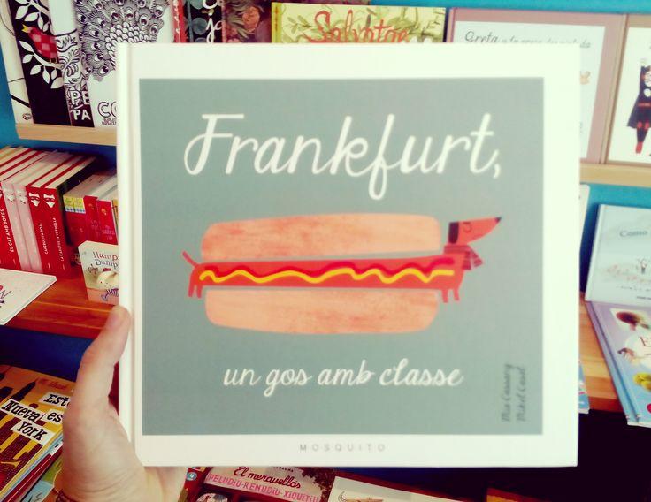 Frankfurt, un perro con clase. Mia Cassany & Mikel Casal. Mosquito books.