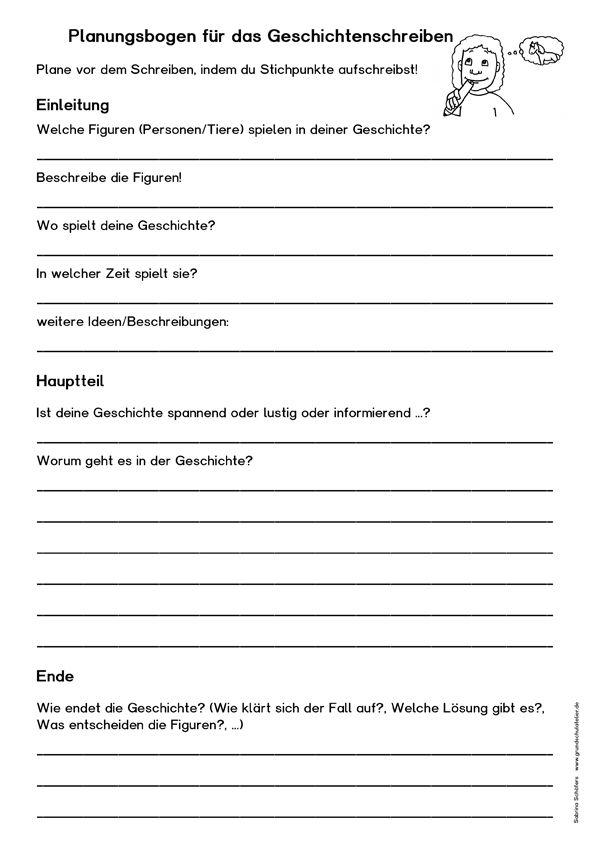 geschichten schreiben kostenloses arbeitsblatt ideen f r die schule deutsch schreiben. Black Bedroom Furniture Sets. Home Design Ideas
