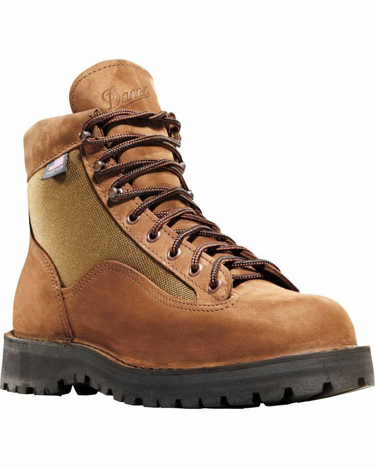 "women's+brown+hiking+boots | Danner Boots Women's Danner Light II 6"" Hiking Boot…"