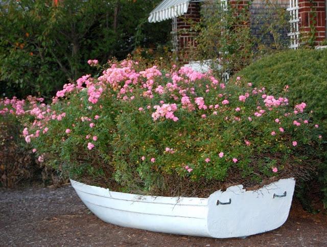 Rose Filled Dinghy   Tresor Trouve: An Inspiring Danforth Anchor