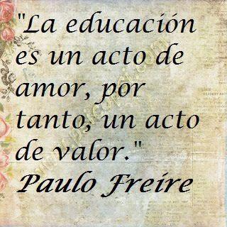 Frase - Paulo Freire