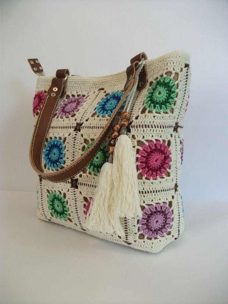 Вязаная сумка ручной работы, 100% хлопок, натуральная кожа, продается. Подробная информация: https://www.livemaster.ru/dosiy?view=profile.
