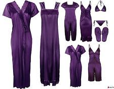 LADIES NIGHTIE SETS WOMENS PYJAMA SET CHEMISE ROBE SATIN GOWN SHORTS PJ'S 6-14 in Clothes, Shoes & Accessories, Women's Clothing, Lingerie & Nightwear, Nightwear | eBay