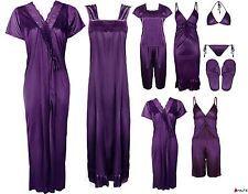 LADIES NIGHTIE SETS WOMENS PYJAMA SET CHEMISE ROBE SATIN GOWN SHORTS PJ'S 6-14 in Clothes, Shoes & Accessories, Women's Clothing, Lingerie & Nightwear, Nightwear | eBay