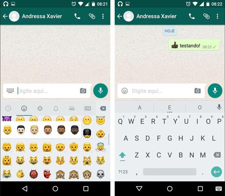 WhatsApp para Android ganha emojis étnicos; veja como baixar - TecMundo