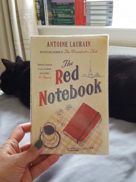 The Red Notebook by Antoine Laurain – ARMCHAIR AMUSEMENTS http://armchairamusements.com/the-red-notebook-by-antoine-laurain/