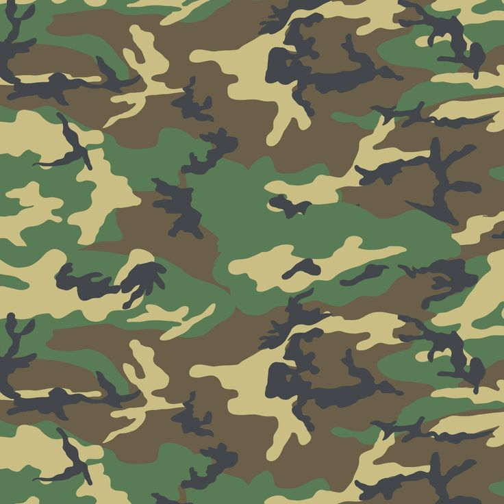 Woodland Camouflage 四季迷彩 Camo Wallpaper Military