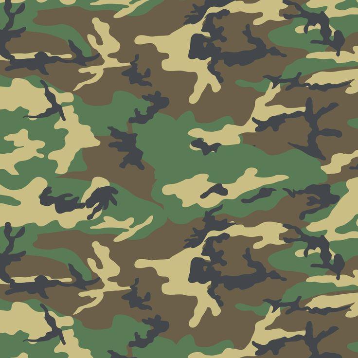 CAMO WOODLAND  Woodland camouflage.