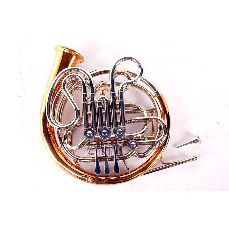 atkinson nr501 erfurt double horn nickel silver 888365175607 unique brass instruments brass. Black Bedroom Furniture Sets. Home Design Ideas