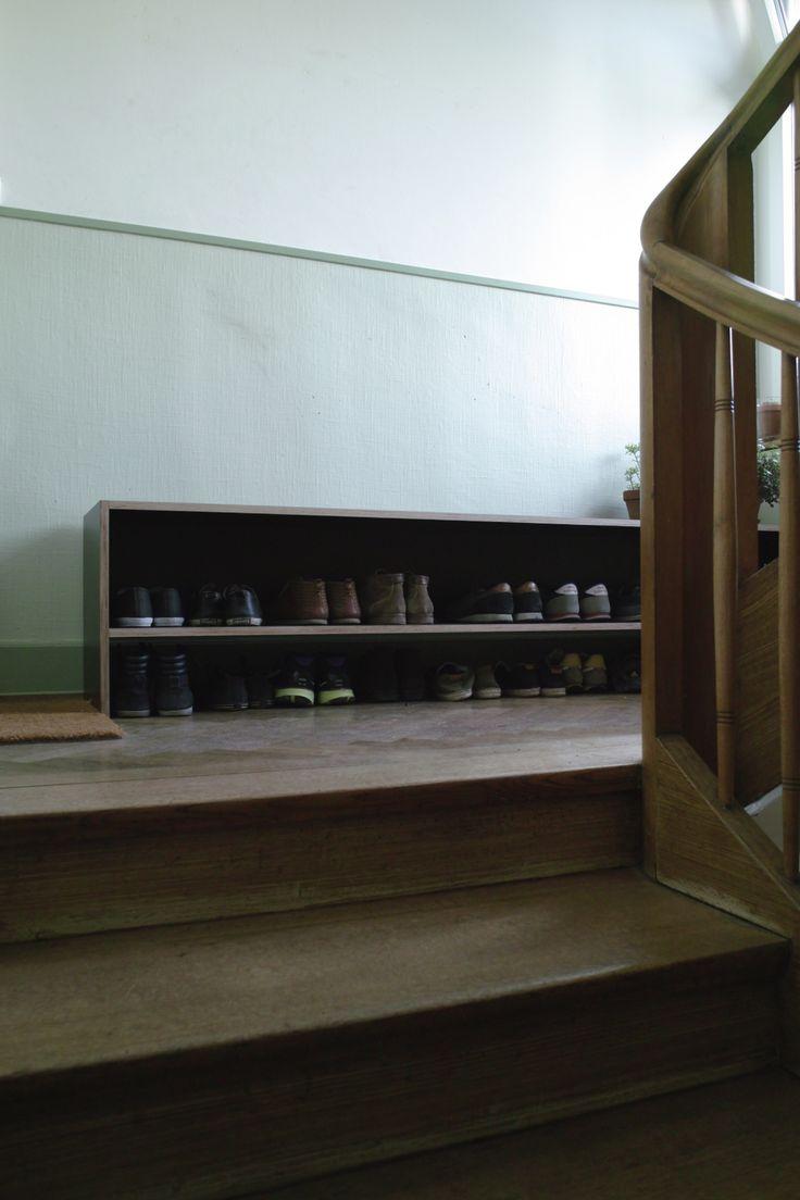 Phenolic plywood bench/shelf