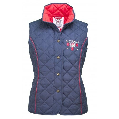 Toggi Ladies GBR Rio Navy Quilted Gilet