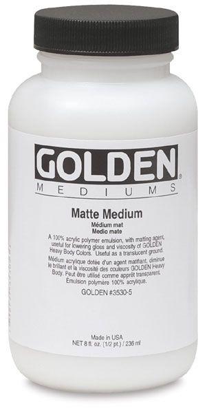 Matte Medium (8 oz) $10.61