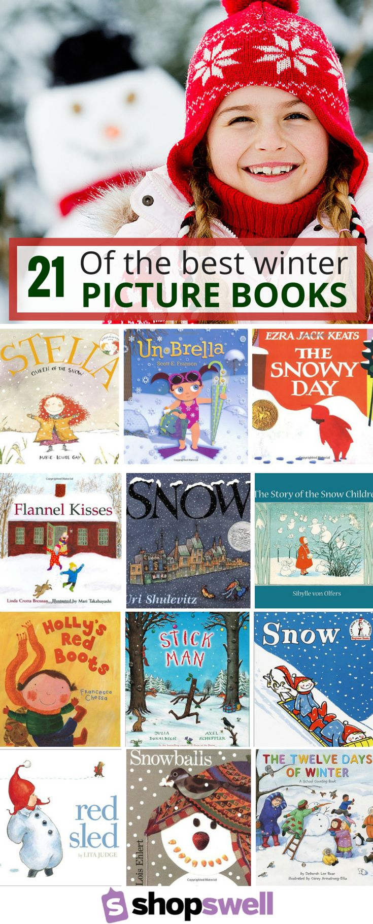 23 of the Best Winter Picture Books to Read with Kids