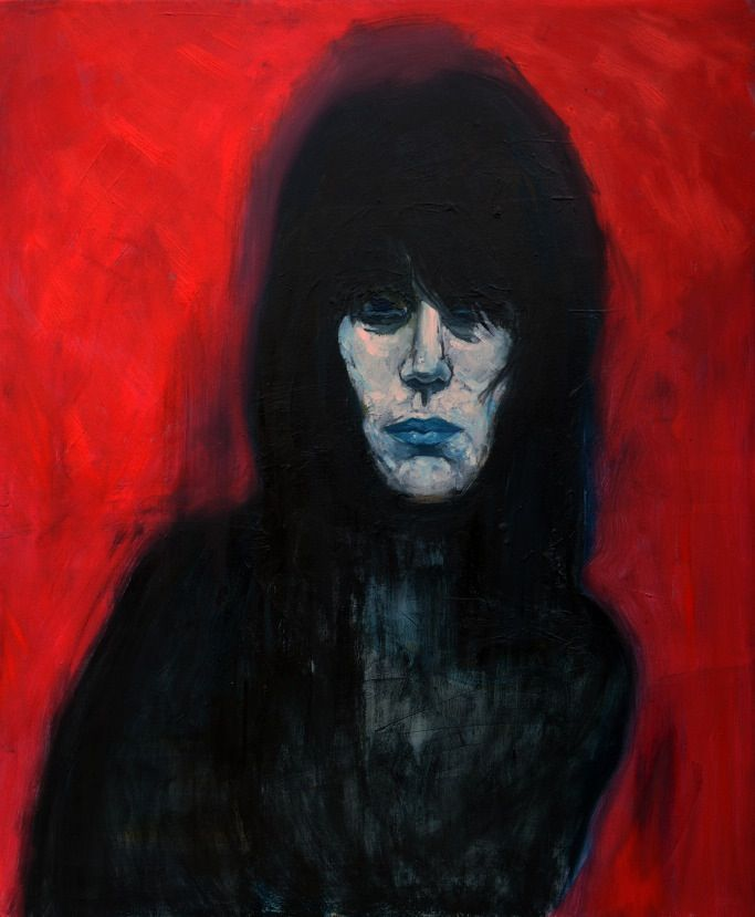 the woman. oil on canvas. 2014. pa rang