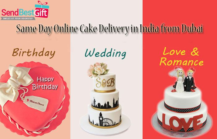 Same Day Online Cake Delivery In India From Dubai Sendbestgift Com Online Cake Delivery Cake Delivery Cake