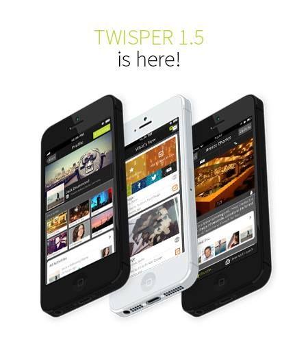 Twisper 1.5 is here - check in iTunes!  https://itunes.apple.com/us/app/twisper/id595413485?mt=8