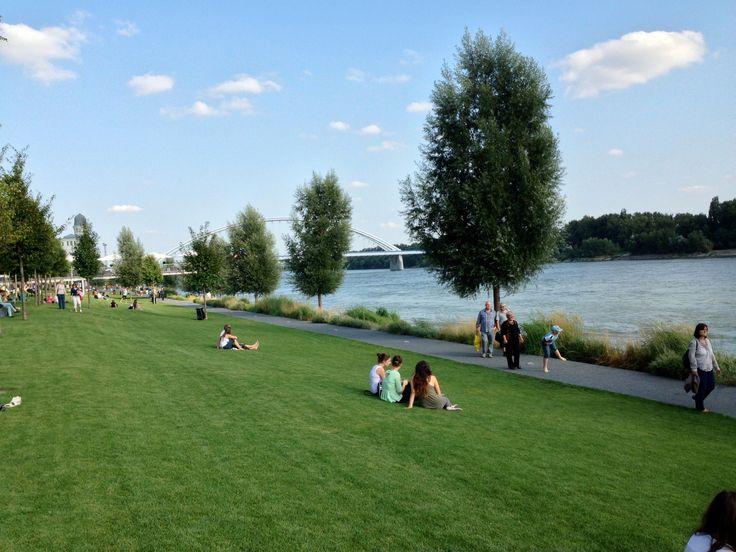 The Danube, Bratislava