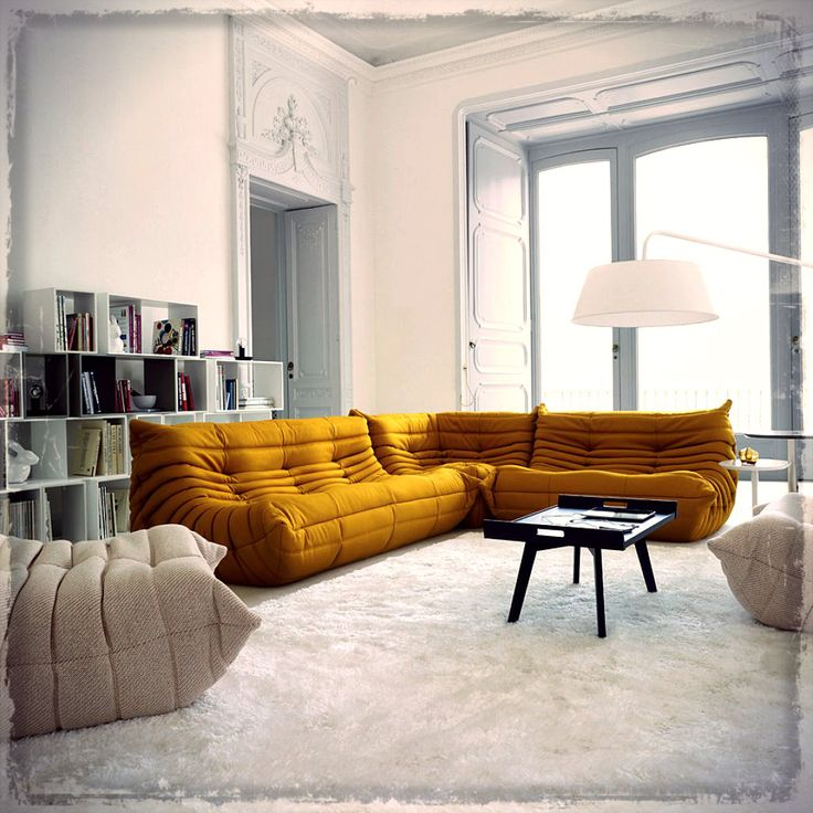 If you feel that your living room is boring for your guests, then it is time for you to revive the living room with exclusive contrast sofas.
