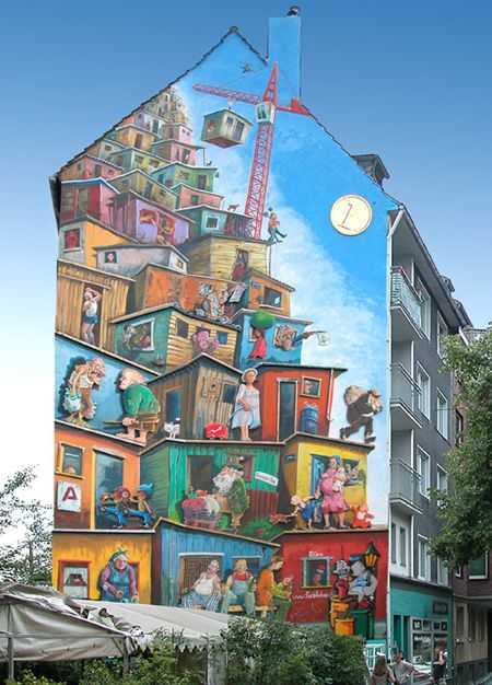 Artists: Kübra Sirinyurt, Istanbul, Jann Wienenkamp, Klaus Klinger & others. Location: Düsseldorf, Merowingerstr.4 , Germany