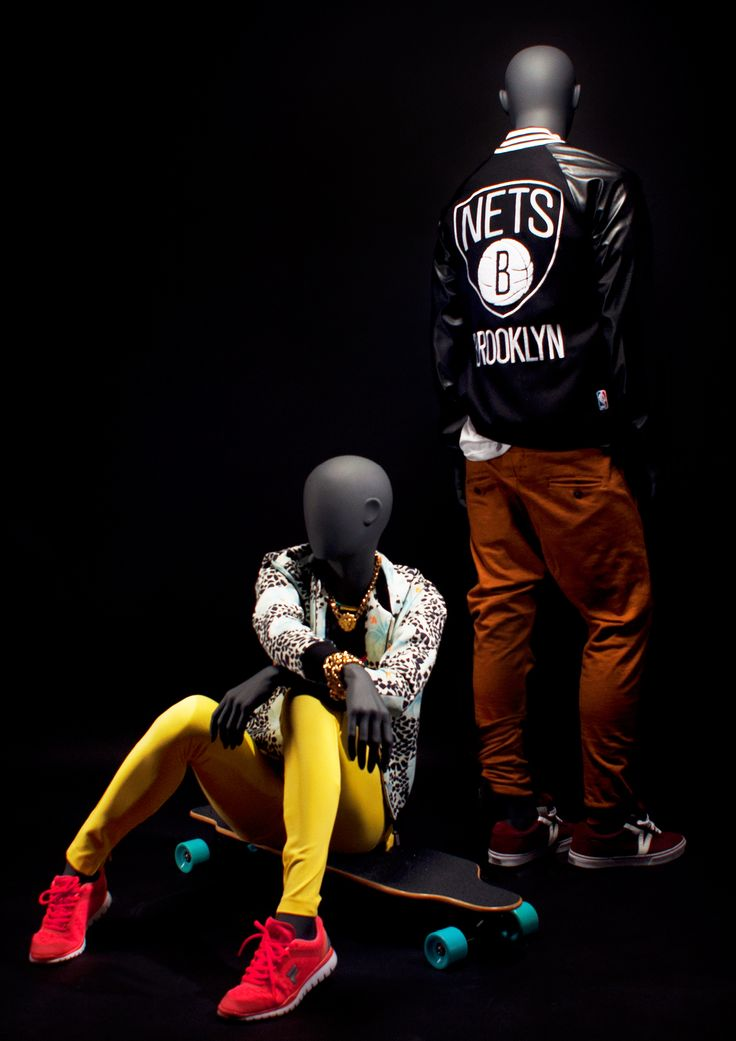LOFT Collection by More Mannequins #MaleMannequin #FemaleMannequin #skate #longboard