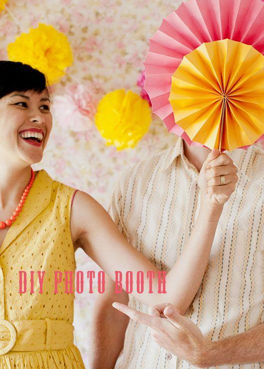 DIY photo booth / sfgirlbybay