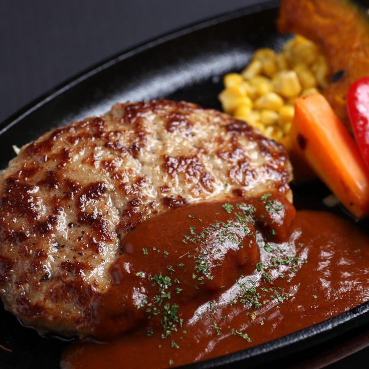 ハンバーグステーキ <3  Japanese Hamburg Steak