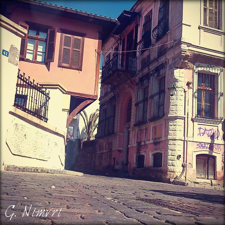 Beautiful architecture at the old town of Xanthi, Greece #oldtown #xanthi #greece