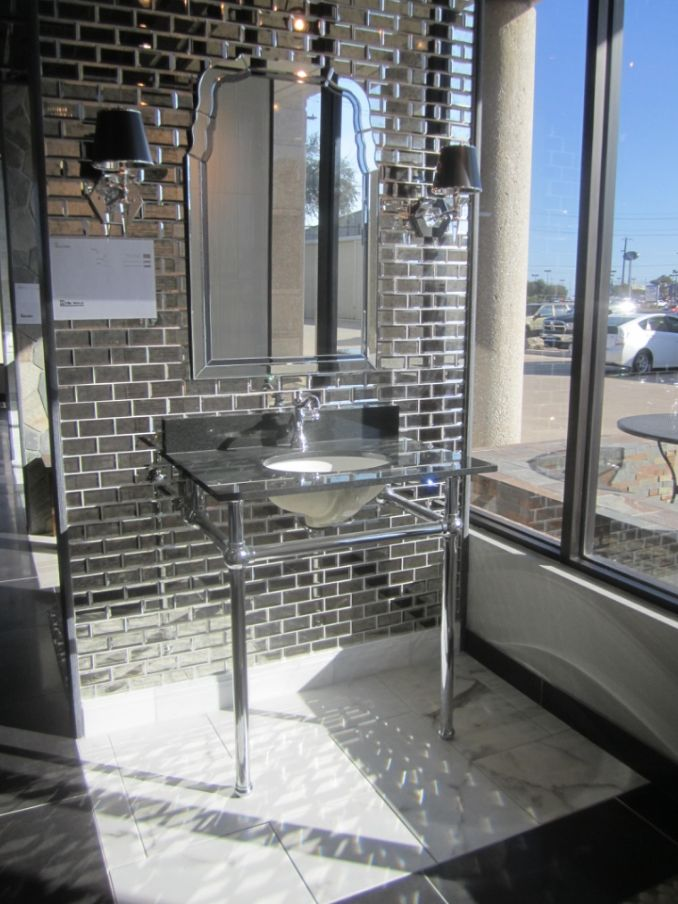 From our new san antonio tx showroom my work Bathroom showrooms san francisco