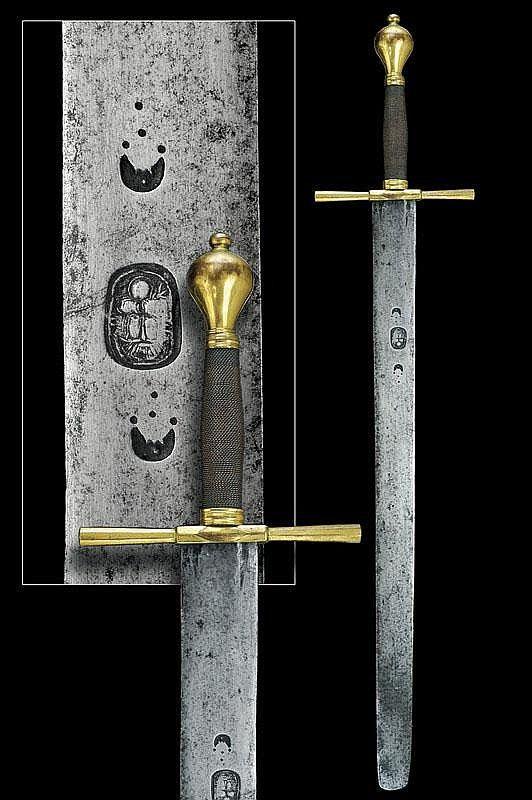 Espada de verdugo - Alemania - Siglo XVII