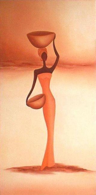"""Africana"" by Anita Burnaz.:"