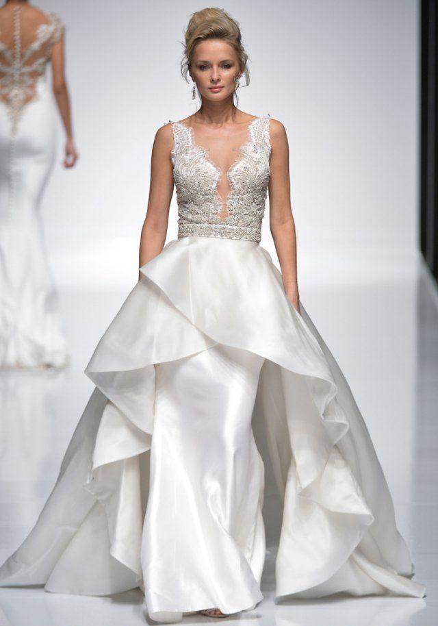 Robe de mariée de princesse Simone Carvalli 2016 - Marie Claire