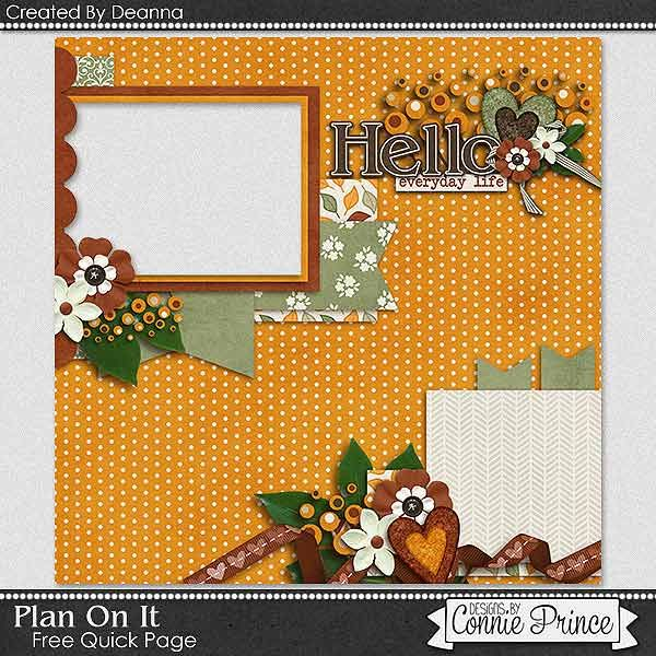 Connie Prince Digital Scrapbooking News: Sneak Peek and The 12 Days of Christmas Sale