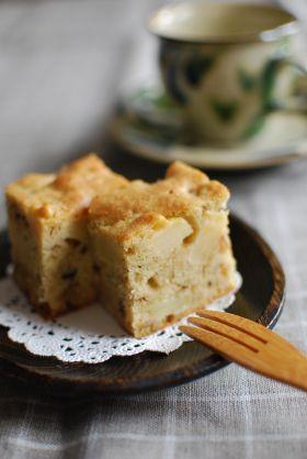 「りんごとくるみのカントリーケーキ」こたみや | お菓子・パンのレシピや作り方【corecle*コレクル】