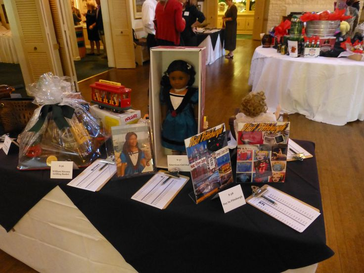 One of our silent auction items was from the American Girl ...